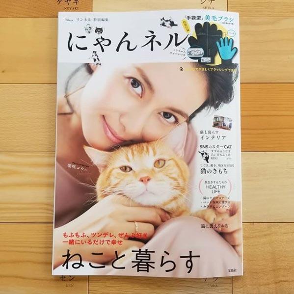 「にゃんネル(リンネル特別編集)」10月発売号